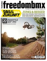 freedombmx 114 Cover Tom Dugan