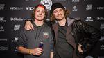 Auf diesem Foto wussten Paul und Max Thölen noch nicht, dass einer von ihnen mit drei freedombmx Awards die Party verlassen würde