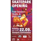 Am 22. September 2019 wird der neue Skatepark in Friedrichshafen mit einer Free Session und einem Skate- und BMX-Jam eröffnet. Hier erfährst du mehr.
