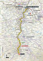 Tour de France 2017, 4. Etappe: Mondorf-les-Bains – Vittel. (Quelle: Geoatlas)