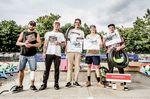 Die Gewinner der Fortgeschrittenenklasse beim BMX Männle 2019 im Skatepark Tuttlingen