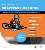 Am 20. Mai 2017 wird der neue Betonpark im Kieler Stadtteil Gaarden mit einem Best-Trick-Contest und einer Bowlsession eröffnet. Hier erfährst du mehr.