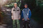 Technine, left to right: Work jacket - 10,000mm/10,000g - €249 | Slimish Stretch Denim pants - 10,000mm/10,000g - €159 | Slam Dunk jacket - 10,000mm/10,000g - €239 | Tear Away pants - 10,000mm/10,000g  - €179