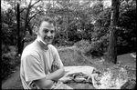 Verschwitzt, dreckig und glücklich: Christian Ziegler in Plauen