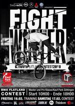 """Der erste Lauf des German Flatland-BMX Championships wird vom 16.-17. Februar 2018 auf dem """"Fight The Winter""""-Contest in Göttingen ausgetragen."""