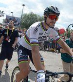 Viele Fans stehen hinter Peter Sagan und sind traurig, ihr Idol nicht mehr bei der Tour de France sehen zu können. Foto: Sirotti