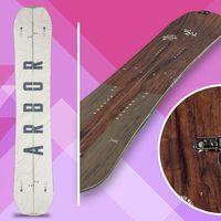 arbor coda camber, splitboard, snowboard