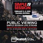 Am 2. und 4. Februar findet im kunstform BMX Shop ein Public Viewing des Livestreams von den Vor- und Finalläufen der Simple Session 2019 statt.