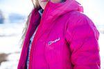 Damen Outdoor Jacke in pink - Perfekt für wandern in den Bergen