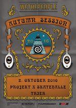 Für den 2.10.2016 solltest du dir nichts vornehmen! Denn dann findet in der Projekt X Skatehalle Trier die 4. Auflage der wethepeople Autumn Session statt.