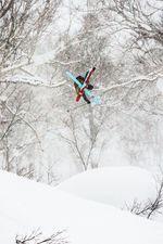 Tom Ritsch genießt den japanischen Powder. credit: Marker Dalbello Völkl