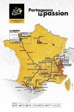 01_Tour de France 2016 Karte