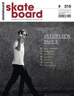 SkateobardMSM Cover #315 Interview Issue