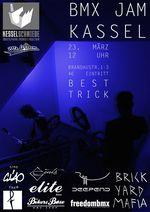 Am 23. März 2019 findet in der Kesselschmiede Kassel ein BMX-Jam mit angeschlossenen Best-Trick-Contests statt, bei denen es Sachpreise zu gewinnen gibt.