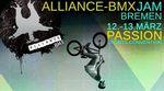 Die Jungs von Alliance BMX veranstalten vom 12.-13. März 2016 wieder einen Jam/Contest auf der Passion Sports Convention in Bremen. Hier erfährst du mehr.