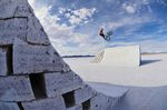 Daniel Dhers rides and flies around his BMX Salt Park Project in Uyuni, Bolivia, Photo: Camilo Rozo/Red Bull Content Pool
