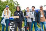 Die Gewinnerinnen der Girls-Klasse des Woodstone-Contests 2018 im Skatepark Wendelstein