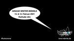 Schlechte Nachrichten aus Ba-Wü: Das Winter-Männle vom 13.–14. Februar 2021 in der Reithalle Ulm musste leider abgesagt werden. Warum, erfährst du hier.