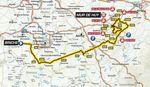 Flèche Wallonne 2017 – Übersichtskarte der Strecke
