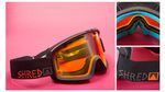 Shred Monocle Popsicle Snowboard Goggles 2015-2016