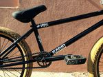 Bei dem Tripodsattel an Leons Rad handelt es sich um einen Prototypen von Radio Bikes