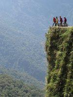 Immer aufpassen, wohin man tritt! ©teacherontwowheels.com