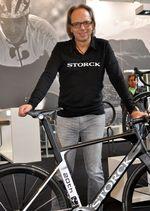 Markus Storck mit dem Aerfast G1 20th Anniversary