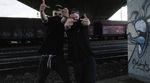Marvin Mayer und Ferdi Bensch sind neu auf fettarmemilch und gönnen sich zum Einstand eine gemeinsame Session am Skateplaza in Gießen.