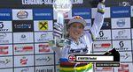 Die strahlende World Cup Gewinnerin Rachel Atherton