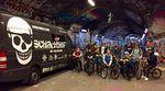Zwei Fahrzeuge, 15 junge Biker und jede Menge gigantische Skatehallen –Hier sind das Video und einige Bilder von dem 8-tägigen UK-Roadtrip der Sportpiraten.