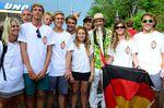Team Germany bei der Eröffnung