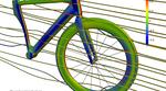 Wie bei sovielen Produkten die auf Aerodynamik ausgelegt sind, kam CFD auch beim Test früherer Computer-Entwürfe von Swiss Side