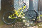 Das gelbe Bike ist in jedem Fall ein Hingucker!