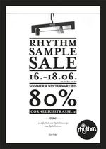 rhythm sample sale