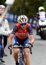 Nibali sicherte sich auf der Abfahrt einen guten Vorsprung. Am letzten Berg, San Fermo Della Battaglia, stellte er seine starke Form unter Beweis. Keiner konnte mehr mit ihm mithalten und Nibali holte sich im Alleingang den Sieg. (Foto: Sirotti)