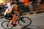 Sprinter und Crit-Spezialisten müssen gelegentlich, meistens aber zum Ende eines Rennens, nochmal alles aus sich herausholen. Briggs hofft, dass sein Trainingsprogramm ihm dabei helfen wird, die nötigen Kraftreserven mobilisieren zu können wenn es darauf ankommt.  (Foto: ©Roz Jones)