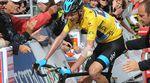 Das Sky Team hatte allgemein sehr viel mit Verletzungen und Krankheit zu kämpfen. Chris Froome musste aber wohl am meisten ertragen. (Foto: Sirotti)