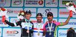 Cavendish und Renshaw zusammen auf dem Podium der Tour of Turkey. (Foto: Tim de Waele)