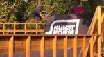 Die Homies von Ride With Friends haben im Mellowpark vorbeigeschaut, um die ersten fertiggestellten Rampen des neuen BMX-Superparks anzutesten.