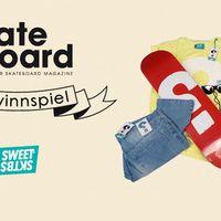 Sweet Skateboards x Monster Skateboard Magazine Gewinnspiel