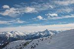 Traumhafter Ausblick im Skigebiet Mayrhofen. credit: Mayrhofner Bergbahnen