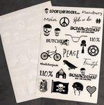 Sticker des Schlachthof Skate und BMX Park Flensburg