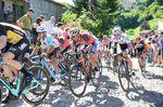 Jungels (hier mit Vincenzo Nibali) führt noch in der Wertung der jungen Fahrer. (Bild: Sirotti)