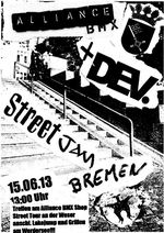 BMX-Street-Jam-Bremen-Alliance-Dev-Clothing-Flyer