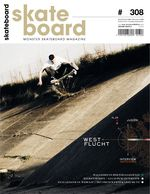 Monster Skateboard Magazine Cover #308
