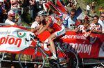 Froome bei seinem Tour de France Debut 2008. Der Profi lernte viel von seinen Fehlern. (Bild: Sirotti)