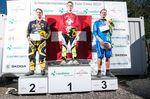 Das Podium der Elite Herren Schweizermeisterschaft (v.l.n.r. Marco Muff, Simon Waldburger, Mirco Weiss)