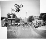 Timo Schulze, Barrel Roll im Schlachthof Skate- und BMX-Park beim Butcher Jam 2017