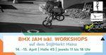 Vom 14.-15. April 2018 bieten die Homies von fettarmemilch, Infaction und Deepend auf dem Stijlmarkt in Mainz BMX-Workshops für interessierte Neulinge an.