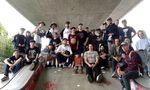 Gruppenfoto beim Teenage Mutant BMX Jam 2016 in Friedrichshafen